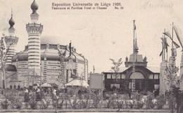 Exposition Universelle De Liège 1905 Panorama Et Pavillon Foret Et Chasse (pk42658) - Luik