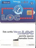 Portugal - Phonecard/ Telécarte Telecom Card /     Nuevo/UNC - Portogallo