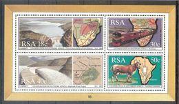 South AFRICA Train,animal,map S/Sheet  MNH - Trains