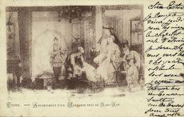 China, NANKING NANJING 南京市, Apartment Of A Mandarin (1901) Postcard - China