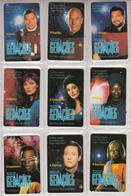 PORTUGAL(chip) - Set Of 9 Cards, Star Trek, Tirage 13000, 03/95, Mint - Phonecards