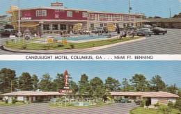 Georgia Columbus Candlelight Motel & Restaurant 1959 - Columbus