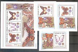 NIGER  Scouts,butterflies Sheetlet+3 S/Sheets   MNH - Unclassified
