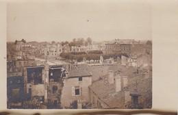 AK Foto Blick Auf Étain - Ruinen Nationalstraße - 1917 (32832) - Etain
