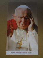 D833-Santino Beato Papa Giovanni Paolo II - Images Religieuses