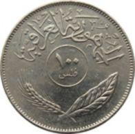 Iraq Coins 100 Fils 1975 Nice Coin - Iraq