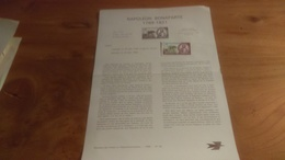 145/ 1969 N° 26 NAPOLEON BONAPARTE 1769 1821 - Documents De La Poste