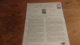 145/ 1965 N° 25 TUNNEL ROUTIER SOUS LE MONT BLANC - Documents Of Postal Services