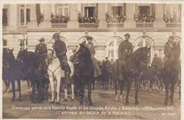 Glorieuse Entrée De La Famille Royale Et Des Troupes Alliées A Bruxelles Le 22 Novembre 1918, (pk42715) - Familles Royales