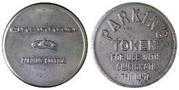 04276 GETTONE JETON TOKEN PARCHEGGIO PARKING PARKMUNZE CINCINNATI PARKING TOKEN - USA