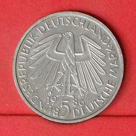 GERMANY FEDERAL REPUBLIC 5 MARK 1986 D -    KM# 164 - (Nº20159) - [ 7] 1949-… : FRG - Fed. Rep. Germany