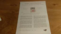 145/ 1968 N° 15 TRAITE D AIX LA CHAPELLE TRICENTENAIRE DU RATTACHEMENT DE LA FLANDRE A LA FRANCE - Postdokumente