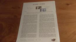 145/ 1967 N° 29 MARIE CURIE - Documenti Della Posta