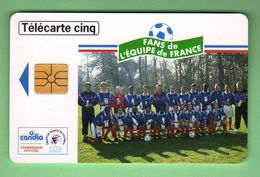 DS10 5 Unites CANDIA EQUIPE DE FRANCE 07/97 *** LUXE *** (A220-P17) - France