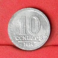 BRAZIL 10 CENTAVOS 1956 -    KM# 564 - (Nº20161) - Brasile