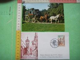 66 ) 2 Doc  Musee  Riquewihr : Berline (turgotine )  Et Le Dolder : Recto Verso - Variedades Y Curiosidades