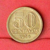 BRAZIL 50 CENTAVOS 1956 -    KM# 566 - (Nº20162) - Brazil