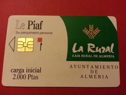 PIAF ALMERIA La Rural Caia Rural - 12/91 - 2000 Ptas - 3000 Exemplaires - Spain