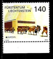 LIECHTENSTEIN  1565** Europa 2012 - Liechtenstein
