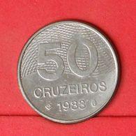 BRAZIL 50 CRUZEIROS 1983 -    KM# 594,1 - (Nº20166) - Brésil