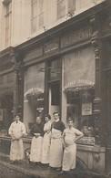 Namur Rue De La Croix 21 Charcuterie Parisienne E.Tordeur  Carte Photo  Circulé En 1910 - Namen