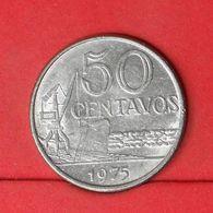BRAZIL 50 CENTAVOS 1975 -    KM# 580b - (Nº20167) - Brésil