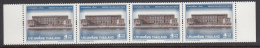 Thailand 2002 MNH Scott #2040-#2041 Set Of 2 Strips Of 4 4b Royal Palaces Joint With Sweden - Thaïlande