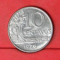 BRAZIL 10 CENTAVOS 1978 -    KM# 578,1a - (Nº20169) - Brazil
