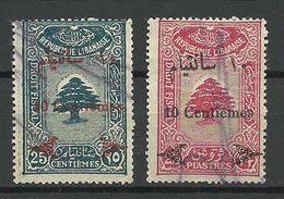 LIBANON Grand Liban Taxe Droit Fiscal O - Gross-Libanon (1924-1945)