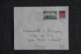 Lettre De FRANCE (CLERMONT FERRAND ) - N°1463 ET 1352 - France
