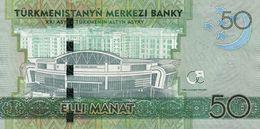 TURKMENISTAN P. 33 50 M 2014 UNC - Turkmenistan