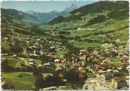 V1568 Megeve - Vue Generale Et Mont Charvin / Viaggiata 1967 - Megève