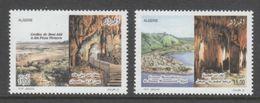 PAIRE NEUVE D'ALGERIE - GROTTES D'ALGERIE N° Y&T 1571/1572 - Other