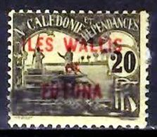WALLIS & FUTUNA 1920 Postage Due 20c Used - Wallis And Futuna