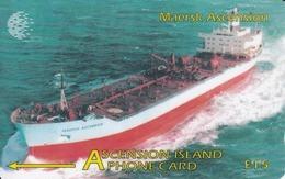 Ascension - Maersk Ascencion, CN:268CASB, 5.000 Tirage ,used - Ascension