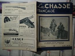 LA CHASSE FRANCAISE ILLUSTREE N°35 D AVRIL 1949 GEORGES BENOIST / HENRY BELLAIS - Chasse & Pêche