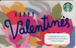 "FRANCE - Happy Valentine""s Day, Starbucks Card, CN : 6147, Unused - Gift Cards"