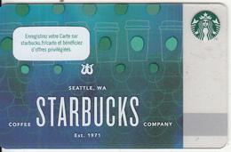 FRANCE - Starbucks Coffee Company, Starbucks Card, CN : 6148, Unused - Gift Cards