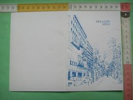 78 ) Meilleurs Voeux :musée De La Poste Et De La Philatelie 36 Bd Vaugirard : Recto Verso - Plaatfouten En Curiosa