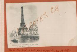 CPA  75  PARIS  EXPOSITION UNIVERSELLE 1900   La Tour Eiffel      JAN 2018 687 - Expositions