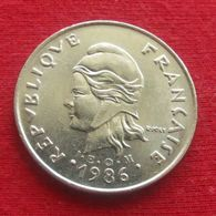 French Polynesia 20 Francs 1986 KM# 9 Polynesie Polinesia - Polynésie Française