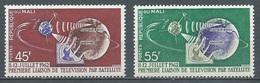 Mali YT N°41/42 Télécommunications Spatiales Neuf ** - Mali (1959-...)