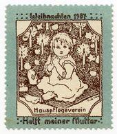 CINDERELLA : GERMANY - WEIHNACHTEN 1907, HELFT MEINER MUTTER - Cinderellas