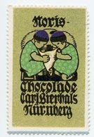 CINDERELLA : GERMANY - CARL BIERHALS, NURNBERG - CHOCOLADE, NORIS - Cinderellas