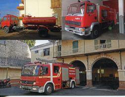Mauritius - Ile Maurice - Fire Station And Fire Trucks - Pompieri