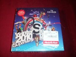SUPERMARTXE WINTER 2010 FEEL THE MUSIC   COMPILATION STYLE DEEP HOUSE PROGRESSIVE TRANCE  CD + DVD - Dance, Techno & House