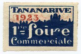 CINDERELLA : MADAGASCAR - TANANARIVE - 1ER FOIRE COMMERCIALE - Cinderellas