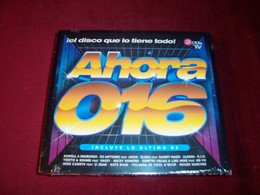 AHORA 016 IEL DISCO QUE LO TIENE TODO  3 CD NEUF SOUS CELOPHANE - Dance, Techno & House