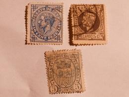 ESPAGNE  1875-76  Lot # 5 - Oblitérés