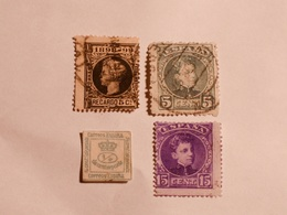 ESPAGNE  1876-98  Lot # 6 - Oblitérés